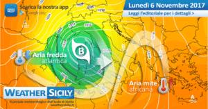 Sicilia, riscossa autunnale: ancora instabilità e forti venti nelle prossime 48 ore. A seguire nuova perturbazione