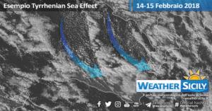 Weather Sicily, raggiunta una performance previsionale del 93% sugli accumuli nevosi previsti