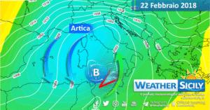 Sicilia, prosegue la fase perturbata: possibili fenomeni intensi giovedì