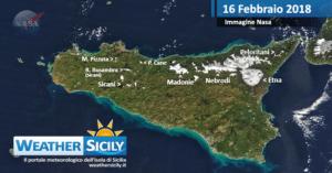 Sicilia, l'alta pressione pone una breve tregua. Atteso molto freddo e locali gelate venerdì al primo mattino