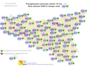 Sicilia, nuovo peggioramento da sabato sera. Possibili fenomeni intensi domenica.