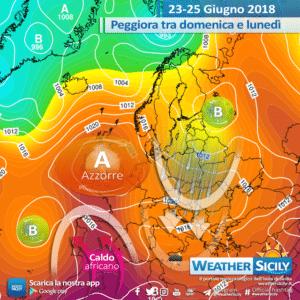 Sicilia, estate in affanno: scocca l'ora dei temporali pomeridiani. Possibili fenomeni intensi.
