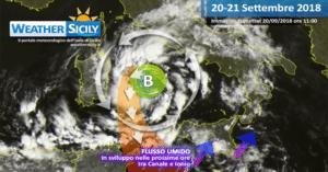 Sicilia: veloce fronte perturbato martedì. Seguiranno forti venti e un deciso calo termico.