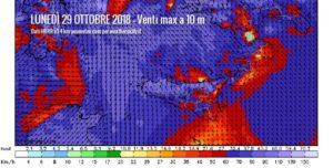 Sicilia, lunedì venti burrascosi con maltempo diffuso.