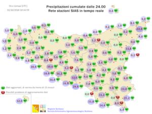Sicilia, ancora maltempo diffuso giovedì: possibili (locali) fenomeni intensi.