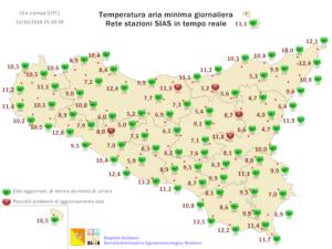 Sicilia: la festa di Ognissanti a rischio nubifragi. Forti venti di Scirocco tra la notte e il mattino.
