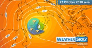 Sicilia, forti venti di Grecale in arrivo: le condizioni meteo-marine per martedì 23 ottobre 2018