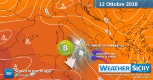 Sicilia: situazione in miglioramento nel weekend ma persisterà qualche locale disturbo.