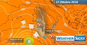 Sicilia, vortice afro mediterraneo in avvicinamento: si apre una nuova fase di maltempo!