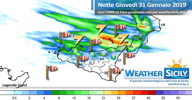 Sicilia: richiamo mite in arrivo con punte di 20 gradi ma sabato avanza nuovamente il freddo.