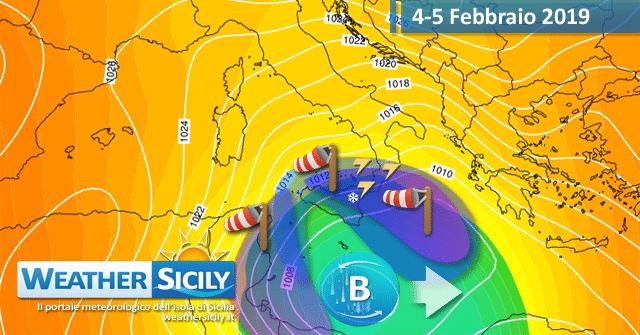 Sicilia: timida alta pressione fino al weekend. Svolta artica a seguire?