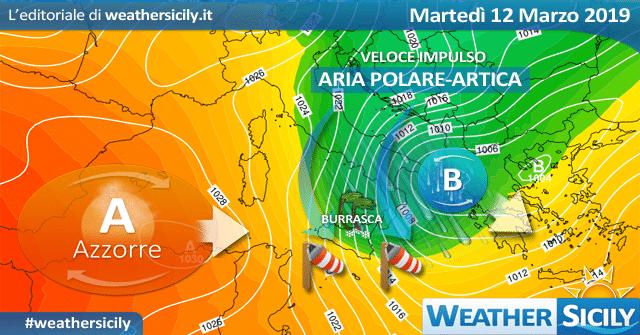 Sicilia: prove di primavera al termine. Nuovamente inverno dalla prossima settimana?