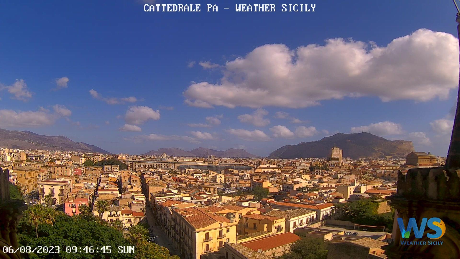Palermo – Vista dai tetti della Cattedrale