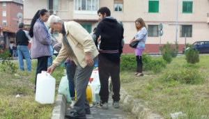   Disagi a Messina senz'acqua  