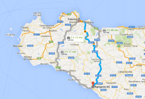 | Statale Palermo - Agrigento |