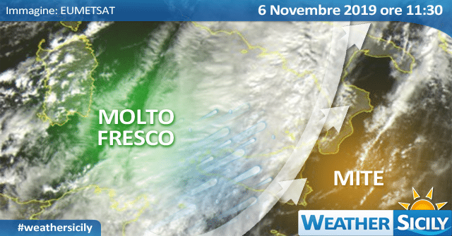 Sicilia divisa in due: +14 gradi a Trapani, +24 a Catania e Siracusa.