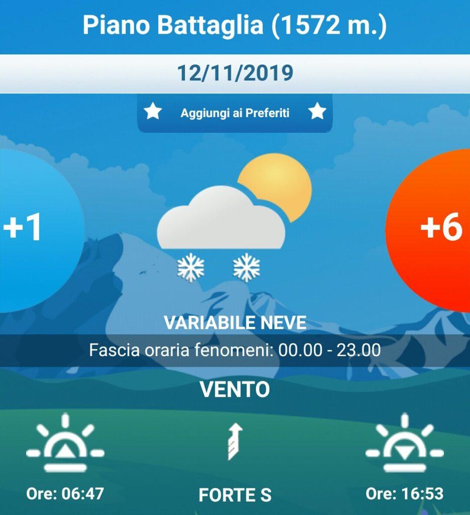 Sicilia: allerta meteo gialla mercoledì su tutta la regione.