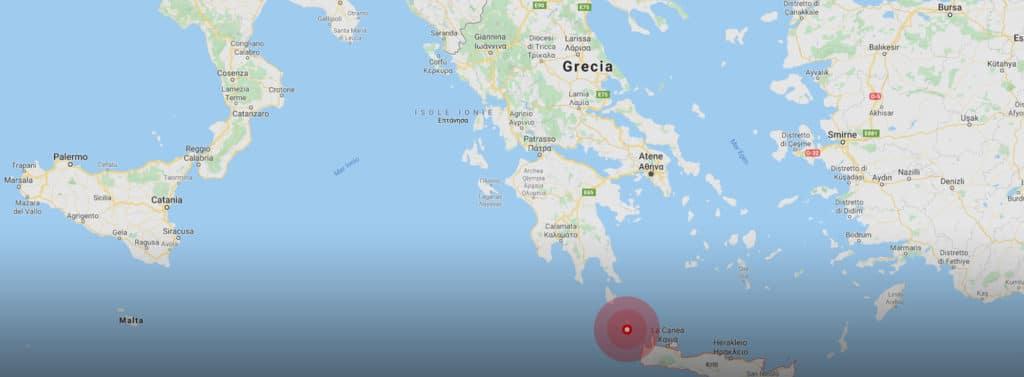 Terremoto 6.0 a Creta: scossa avvertita anche in Sicilia!