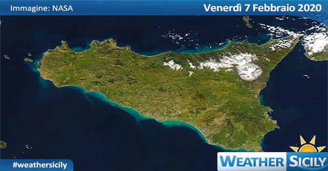 Sicilia: weekend con l'anticiclone ma persiste il rischio gelate!