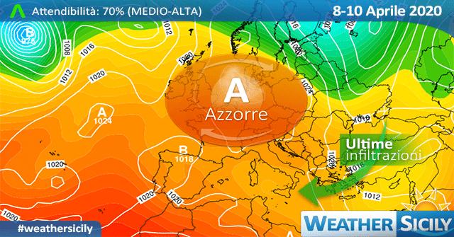 Sicilia: ancora variabilità e locali piogge. Primavera pronta al decollo!