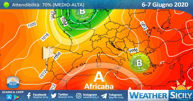 Sicilia: migliora nel weekend ma con contesto variabile e ventoso.