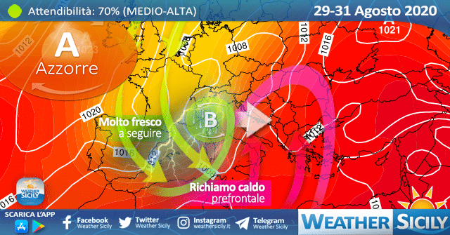 Sicilia, caldo weekend ma poi cambia tutto: break estivo alle porte!