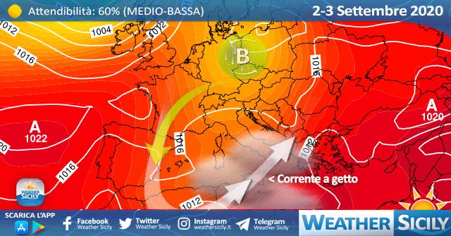Sicilia, nuvolosità in aumento da mercoledì: arriva una seconda perturbazione!