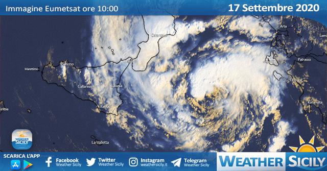 Sicilia, il ciclone mediterraneo si allontana: adesso punta la Grecia.