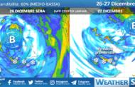 Sicilia, fase clou del freddo dalla serata: neve e grandinate in arrivo!