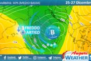 Sicilia: freddo artico e neve a  quote più basse tra S. Stefano e domenica 27.