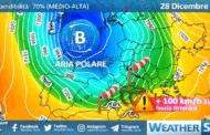 Sicilia: è in arrivo una tempesta di Libeccio sul settore tirrenico!