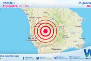 Sicilia: scossa di terremoto magnitudo 3 nei pressi di Parenti (CS)
