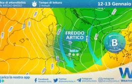 Sicilia, l'inverno ci prova: crollo termico e ritorno della neve martedì.