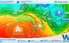 Sicilia, flusso atlantico torna protagonista: venti in rinforzo giovedì sera.