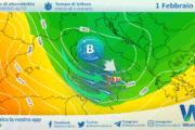 Sicilia: variabilità sparsa e maltempo lunedì. Ancora sostenuto Libeccio.