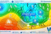 Sicilia: ventoso e variabile lunedì, in attesa del ritorno del freddo artico.