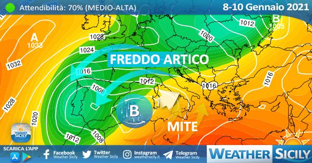 Sicilia: è in arrivo un weekend mite, con locali punte di 25 gradi.