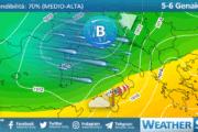 Sicilia: nuvolosità diffusa e moderato Libeccio per l'Epifania.
