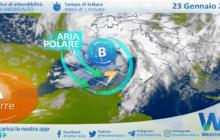 Sicilia: imminente peggioramento meteo dalla notte! Calo termico alle porte.