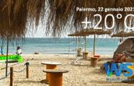 Sicilia: raggiunti 20 gradi a Palermo. Domani calo termico.
