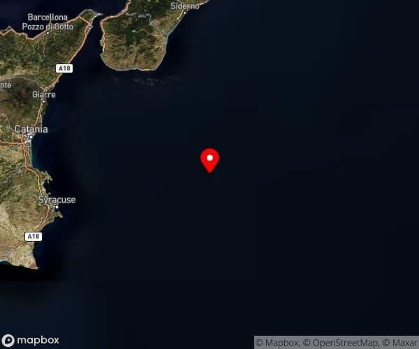 Sicilia: scossa di terremoto 3.5 nel Mar Ionio.
