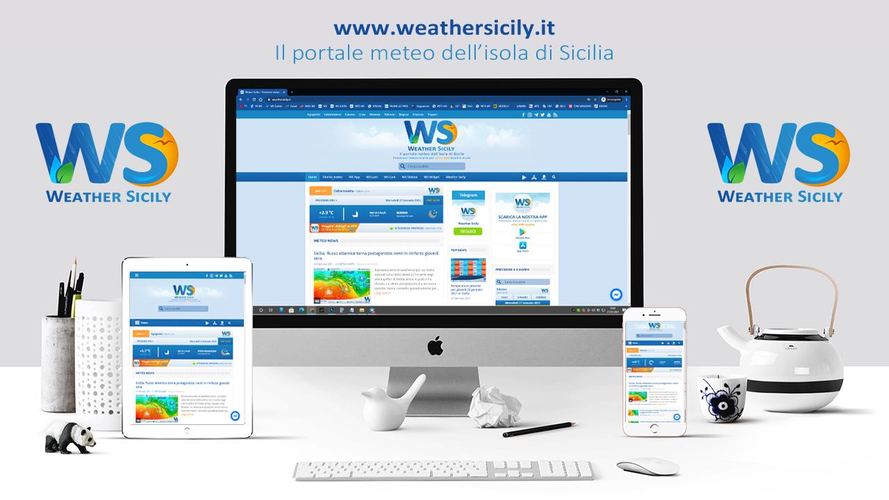 Novità in Sicilia: Weather Sicily cambia immagine con la versione 2.0