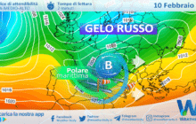 Sicilia: ultimo peggioramento atlantico mercoledì. Gelo siberiano a seguire?