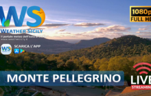 Sicilia: arriva webcam streaming al Santuario di Santa Rosalia, sul Monte Pellegrino.