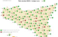 Sicilia: risveglio gelido. Ecco le temperature minime raggiunte.