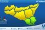 Temperature previste per lunedì 15 febbraio 2021 in Sicilia