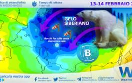 Sicilia: S. Valentino porterà il GELO e la NEVE fin sulle COSTE, ma non ovunque!