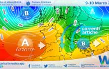 Sicilia: piogge e temperature in calo entro mercoledì.