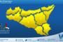 Sicilia: ennesimo peggioramento nella giornata di venerdì.