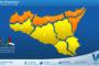 Sicilia, nero weekend: atteso maltempo diffuso. Freddo da domenica con bianche sorprese a seguire.